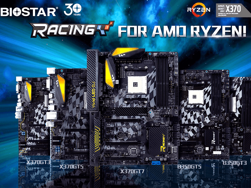 Biostar May Be The Next Big Name In PC Gaming With Its Racing Series Motherboards