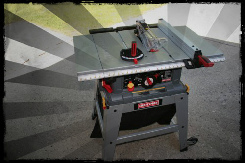 Assembled Table Saw