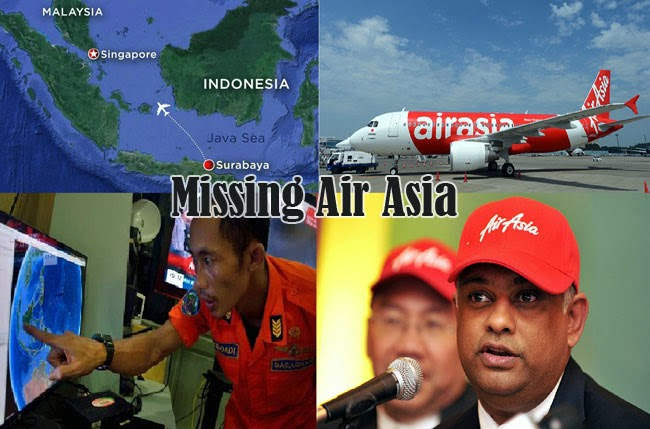 Latest Updates Air Asia Search and Rescue Operations of Missing AirAsia QZ8501 Flight