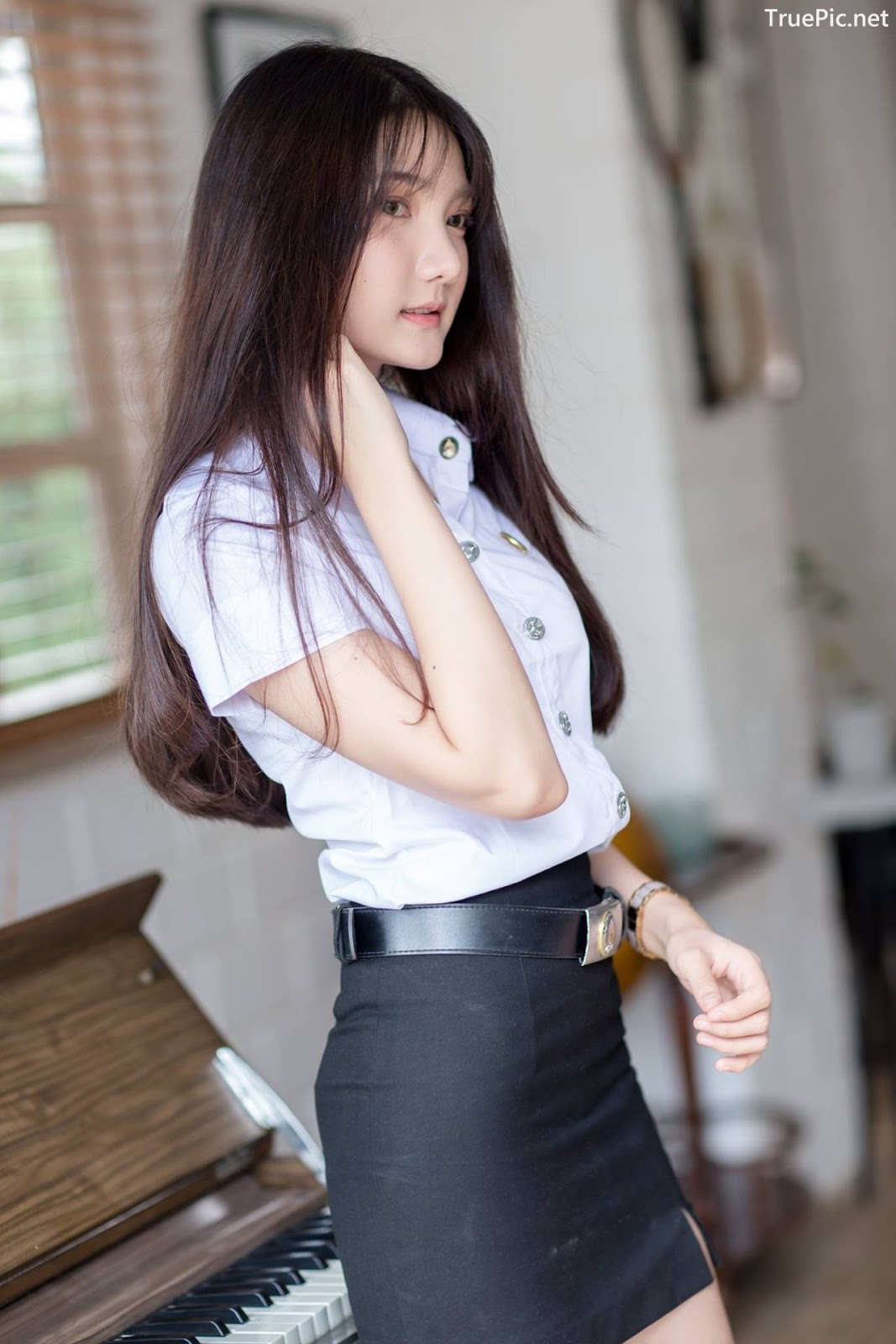 Image-Thailand-Cute-Model-Creammy-Chanama-Concept-Innocent-Student-Girl-TruePic.net- Picture-5