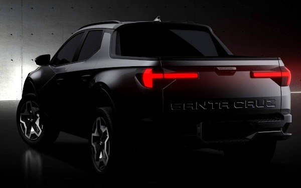 Hyundai Santa-Cruz: picape média tem imagens oficiais reveladas