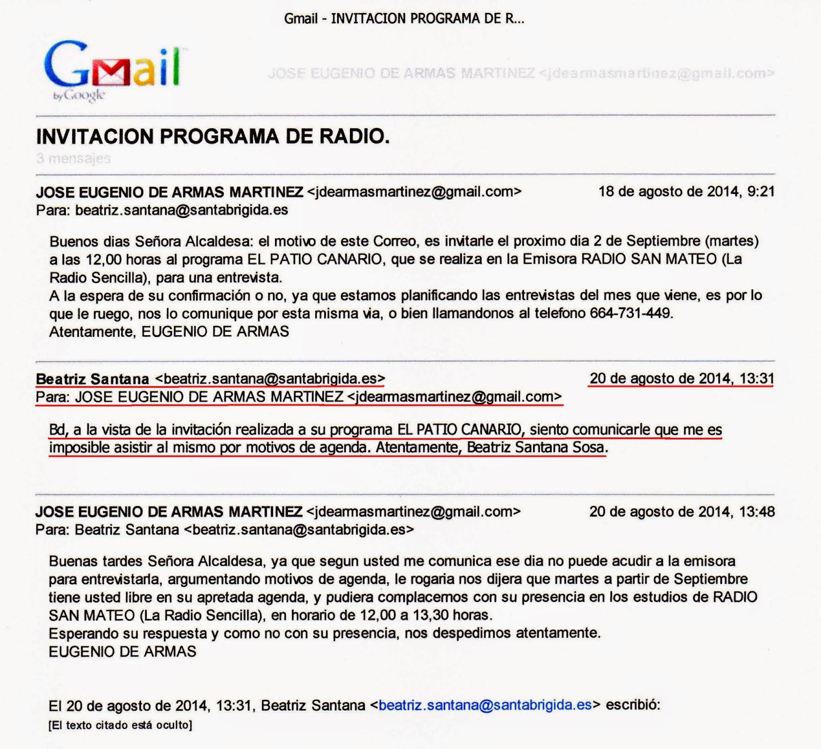 EL GRUPO DE GOBIERNO NIEGA EL DERECHO A LA INFORMACION A ...
