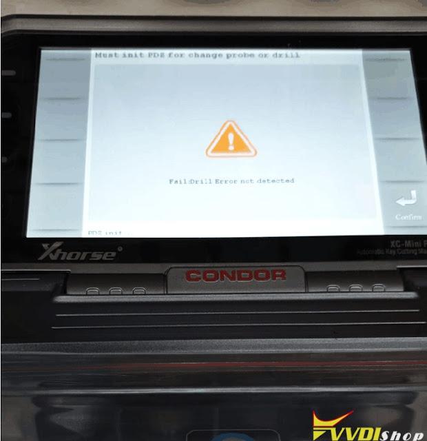 condor-mini-drill-not-detect-error-4