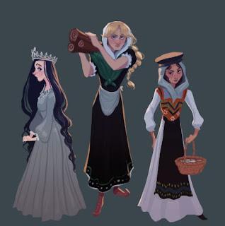 Miryem, Irina and Wanda