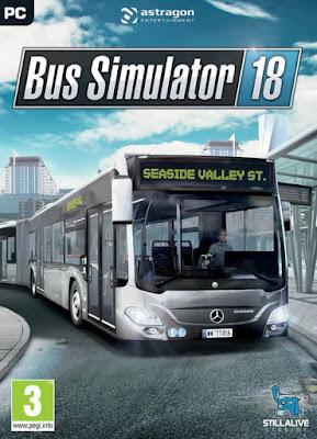 Capa do Bus Simulator 18