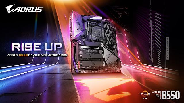 Aorus B550 motherboard