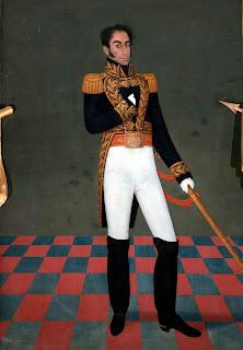 Cuadro con la imagen más fiel según el propio Libertador Simón Bolívar, pintado por José Gil de Castro en 1825.