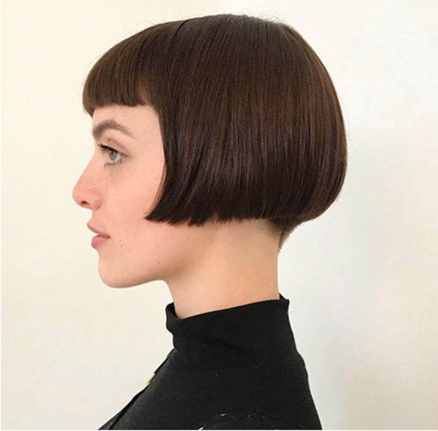 2020 short haircuts with bangs