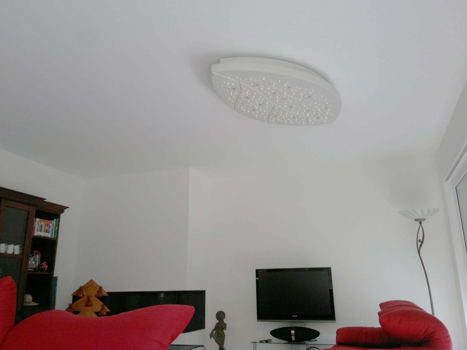 Illuminazione casa fibra ottica foto particolare illuminazione