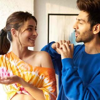 Kartik Aaryan With Ananya Pandey