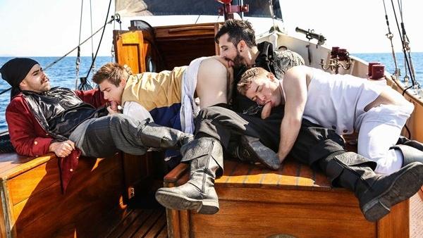 Pirates : A Gay XXX Parody Part 3 – Gabriel Cross, Jimmy Durano, Johnny Rapid, Teddy Torres
