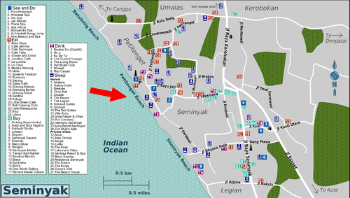 Petitenget beach Pantai Petitenget Seminyak Bali Location Map,Location Map of Petitenget beach Pantai Petitenget Seminyak Bali,Petitenget beach Pantai Petitenget Seminyak Bali accommodation destinations attractions hotels map photos pictures reviews