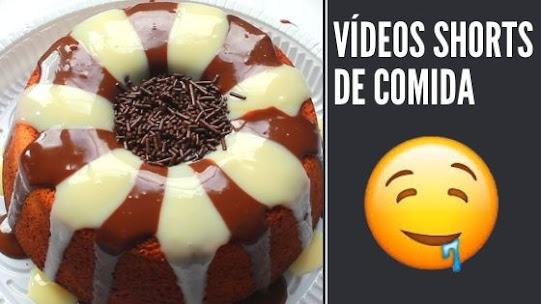 Vídeos shorts de Comida