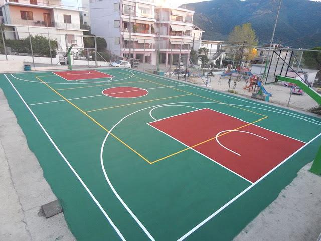 Πλήρη ανακαίνιση του γηπέδου μπάσκετ στο Γραικοχώρι