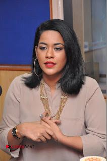 Actress Mumaith Khan Pictures in Jeans at Radio City  0018.JPG