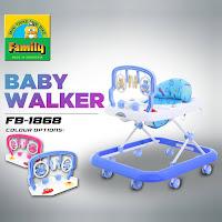 Baby Walker Family FB1868 Alat Belajar Jalan Bayi