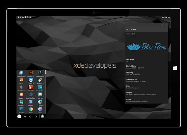 Bliss :   Eγκαταστήστε  Android σε MacBooks  Chromebook και PC