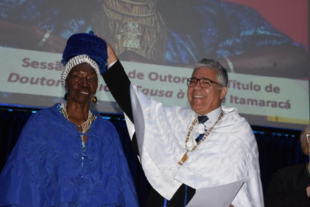 Cirandeira Lia de Itamaracá é a nova Doutora Honoris Causa da UFPE