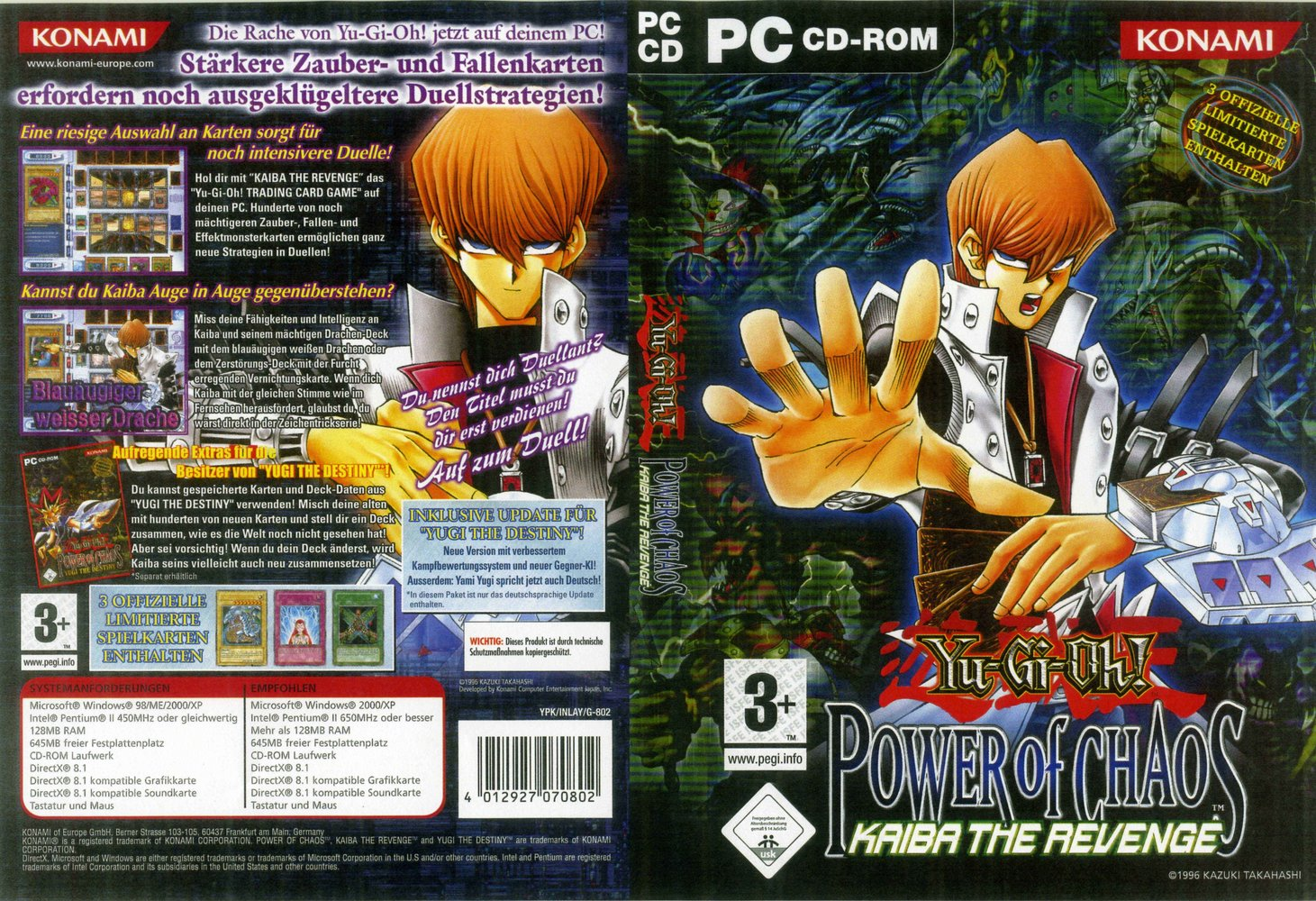 yu gi oh power of chaos download 3 games with all card