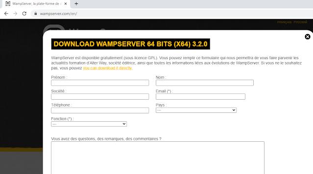 download wamp server