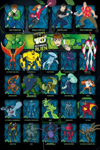 Ben 10 free Game Characters