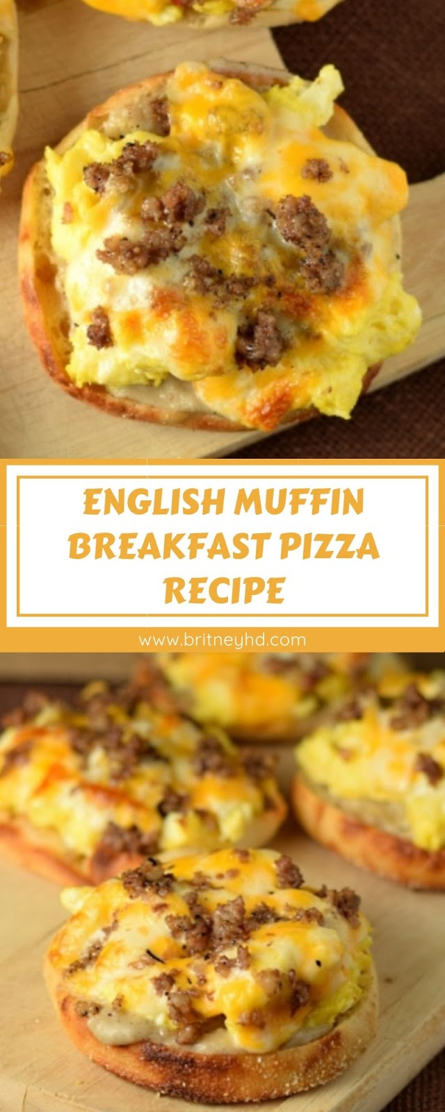 ENGLISH MUFFIN BREAKFAST PIZZA RECIPE