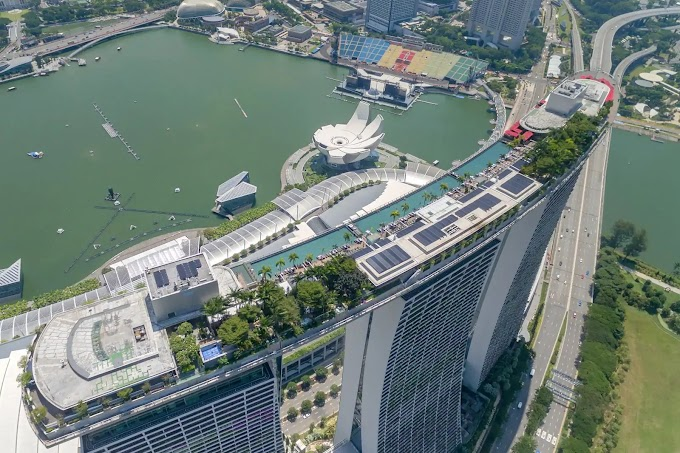 Travel To Singapore On Your Own: Explore Marina Bay (P1)