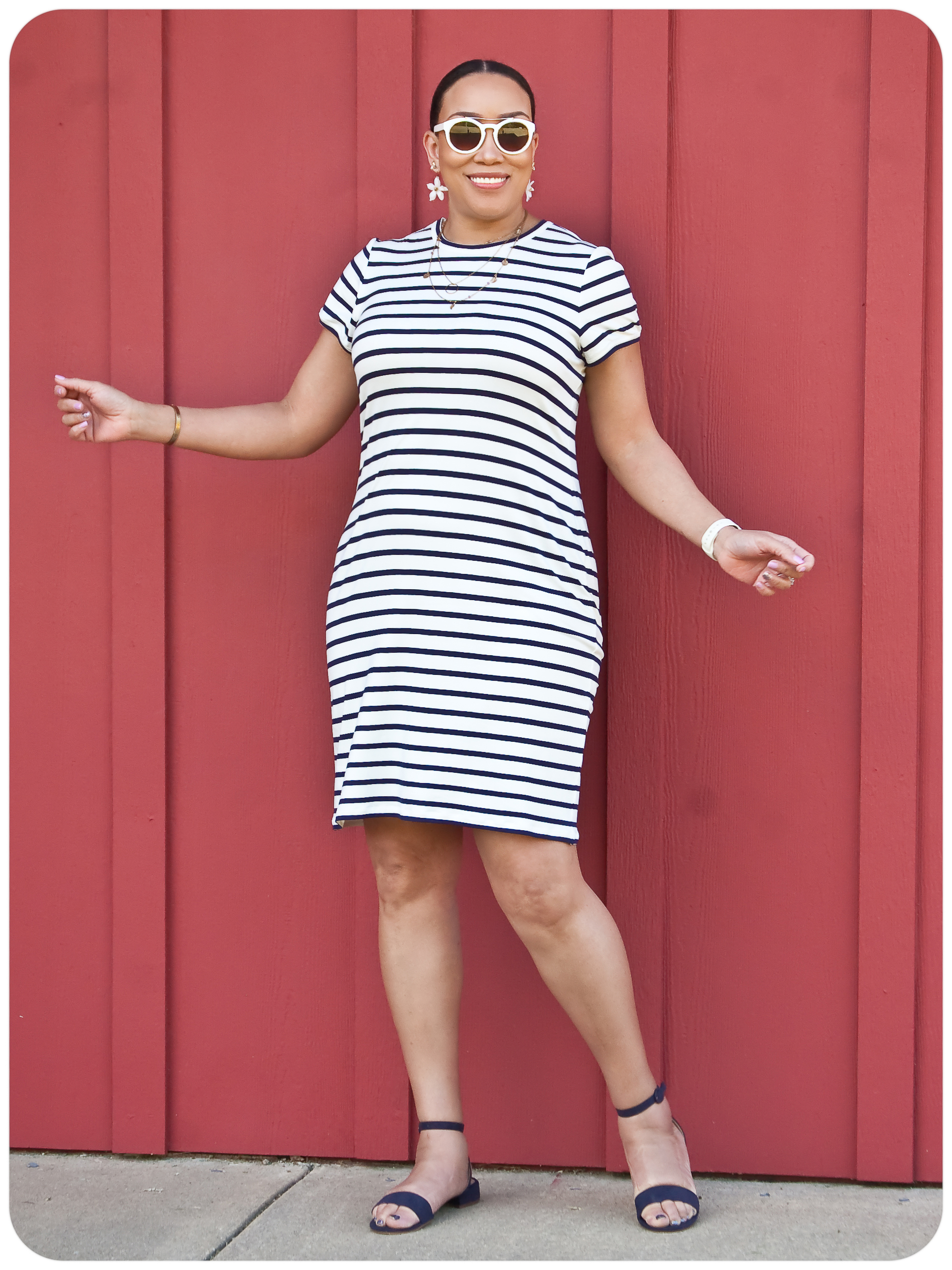 The Rio Ringer T-Shirt Dress - Erica Bunker DIY Style!