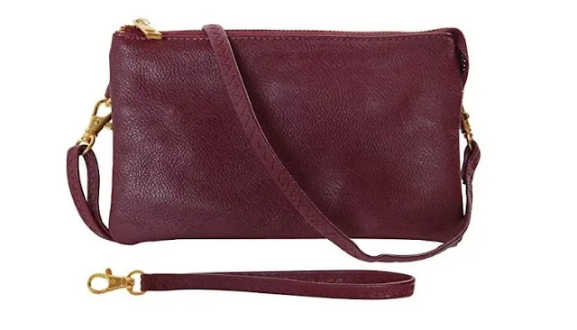 humble chic Vegan Wristlet Clutch review