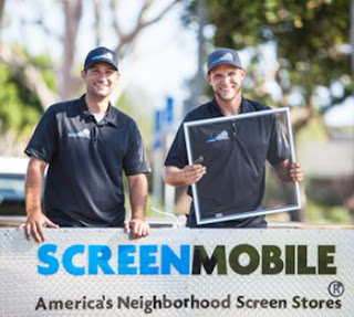 Window screen frames by Screenmobile