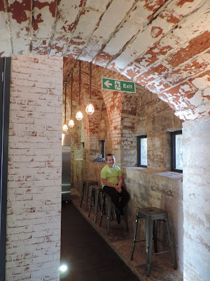 brick vaulted ceilings cannon portholes
