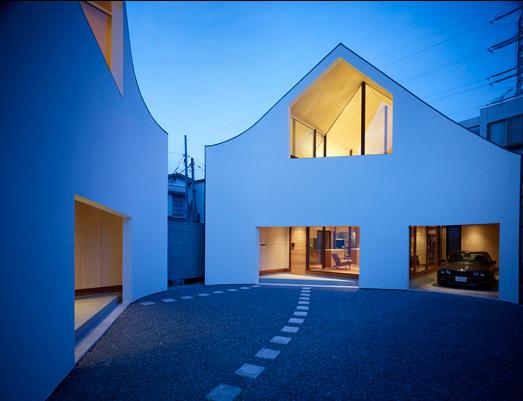 Una casa hecha de dos de naf arquitectura y dise o los for Arquitectura y diseno de casas