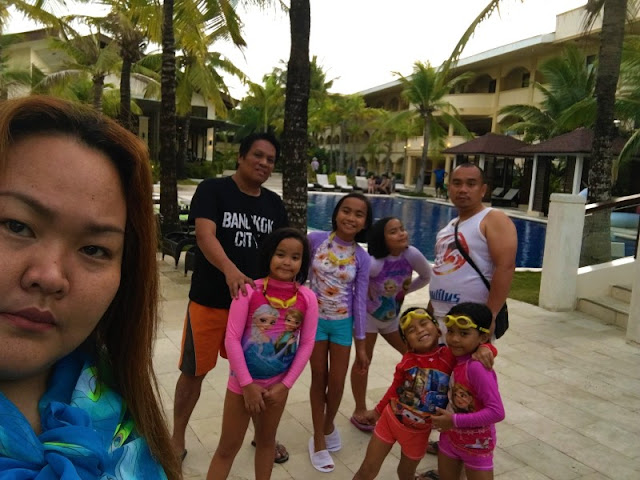 At Henann Garden Resort with JCK Designs' family