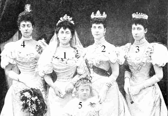 The mariage of  the Princess Maud of  Wales