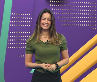 A apresentadora Paloma Tocci - Divulgação/Band