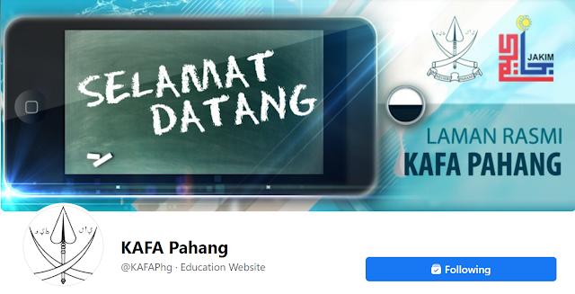 Jom Like!!! FB KAFA Pahang Baru