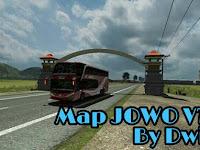Map Jowo v7.1 By Dwi P Euro Truck Simulator 2