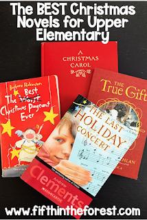 Pinnable image for  The Best Christmas Novels for Upper Elementary