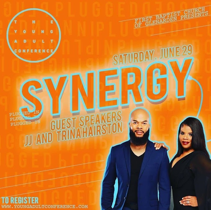 JJ Hairston & Trina Hairston @ SYNERGY || The Youth Adult Conference  [June 29]