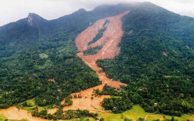 landslides in Aranayake