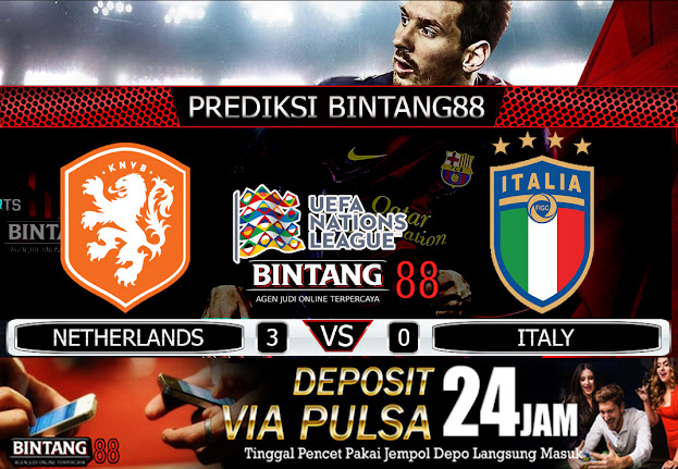 PREDIKSI NETHERLANDS VS ITALY 08 SEPTEMBER 2020