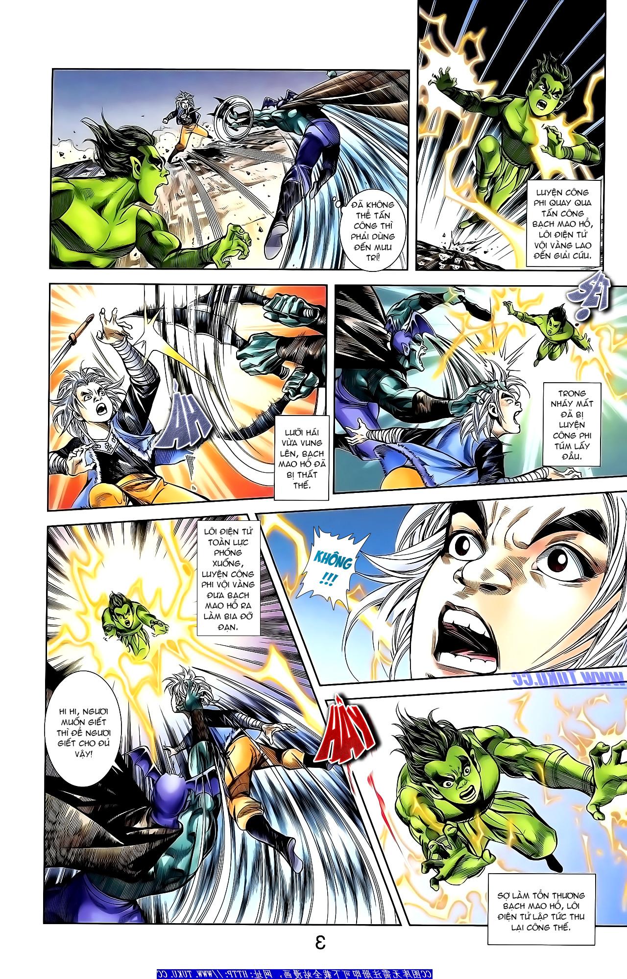 Cơ Phát Khai Chu Bản chapter 155 trang 18
