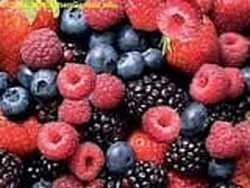 Antioxidant berries - blackberries, blueberries, cranberries, raspberries, strawberries