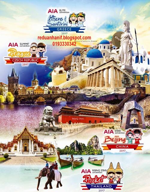 Free trip ke Phuket, Beijing, Prague, Santorini , Barcelona, Star Cruise
