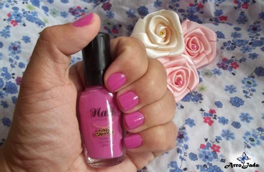 Outubro Rosa - Unhas rosa