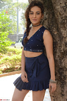 Seerat Kapoor Stunning Cute Beauty in Mini Skirt  Polka Dop Choli Top ~  Exclusive Galleries 032.jpg