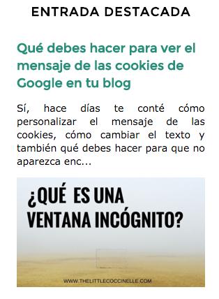 gadget blogger posts destacados