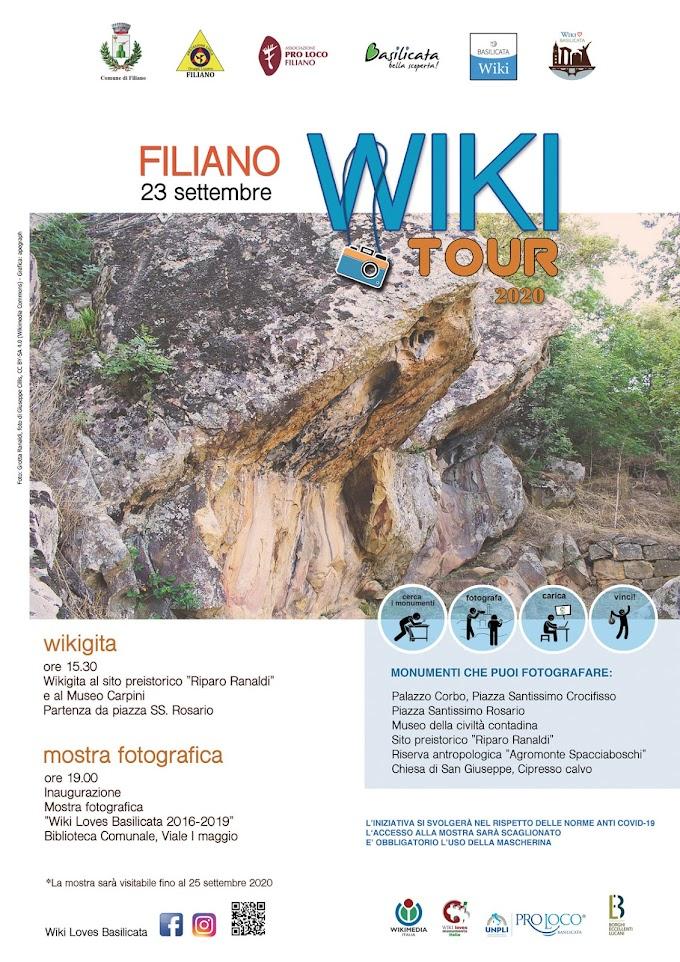 Filiano ospita il tour di Basilicata Wiki
