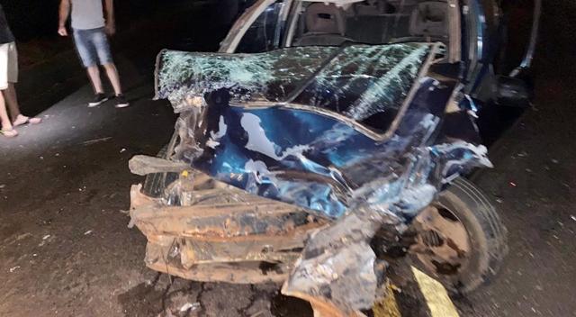 Iretamense se envolve em acidente, entre Iretama e Luiziana