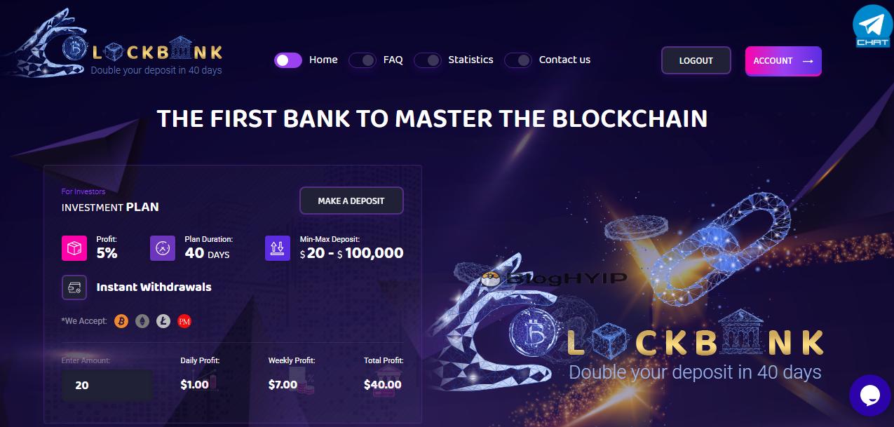 review block bank